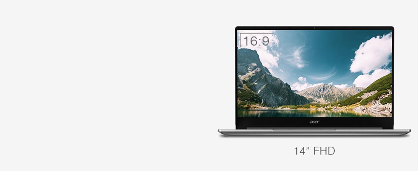 "Acer Swift 3 SF314-59 Intel EVO 11th 14"" Full HD Touch Ultrathin Lightweight"