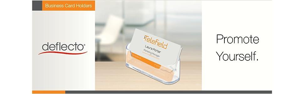 Amazon deflecto business card holder single compartment 3 3 deflecto business card holder display standsingle compartmentgift card holderboost sales colourmoves