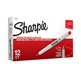 Sharpie Ultra Fine Point Permanent Markers