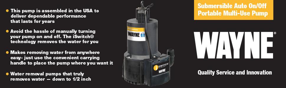EEAUP250 Multi-use Pump