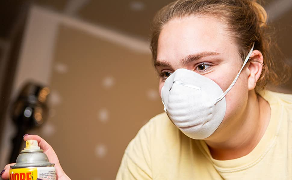 using the dust mask