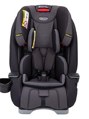 77cf91cff40 Graco Milestone All-in-One Car Seat, Group 0+/1/2/3, Aluminium ...