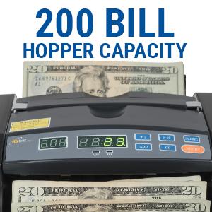 Bill Counter Hopper Capacity
