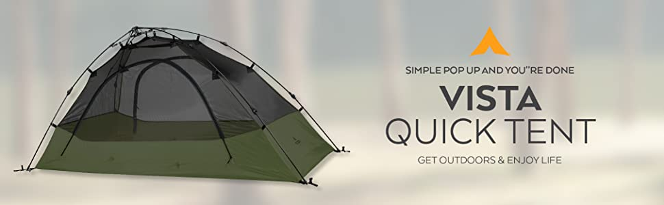 TETON Sports Vista Quick Tent Siple pop up and you are done