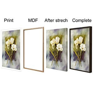 wall decoration ; canvas painting with frame, painting with frame; wall paintings for bedroom