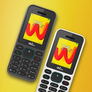 """Wiko Lubi5 - Teléfono móvil Libre DE 1.8"""" (Dual SIM, Radio"""