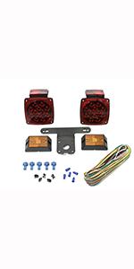 Cool Amazon Com Maxxhaul 70205 12V All Led Submersible Trailer Light Kit Wiring Database Hyediarchgelartorg