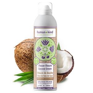 Human+Kind Shower Mousse - Coconut