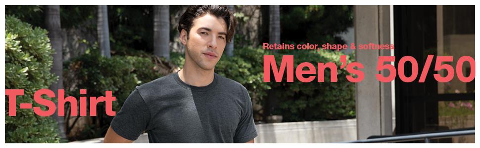 American Apparel, 50/50, T-Shirt, Men's