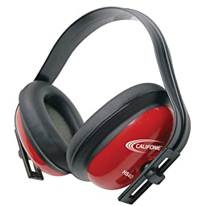 Red Hearing Protectors