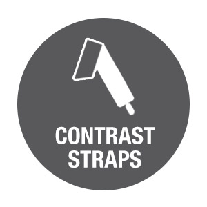 Contrast Straps Icon