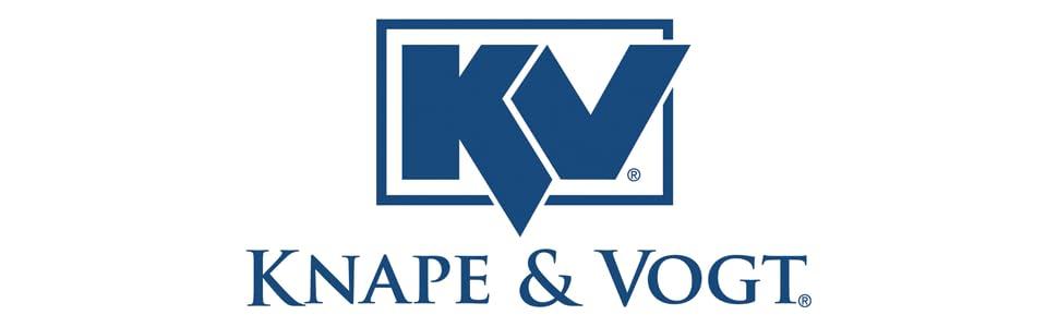 Knape /& Vogt John Sterling 0120-70PM Dual Track Standard 70-Inch Platinum