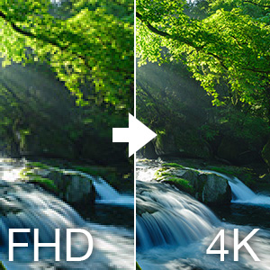 4K up scale
