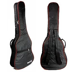 RockJam Bolsa acolchada para guitarra acústica con asa de ...