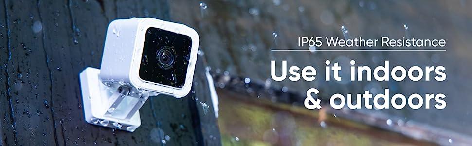 Resistente al agua para interiores y exteriores con clasificación IP65