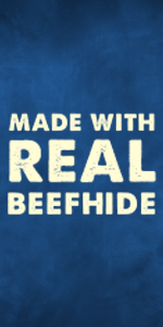 Made with real beefhide