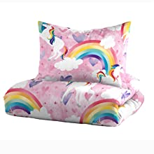 rainbow unicorn magical pink purple