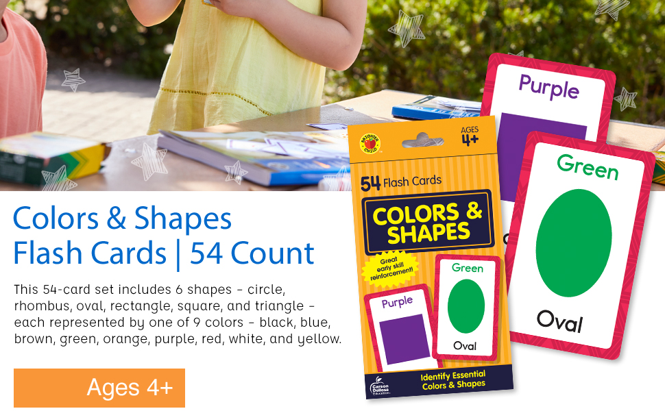 Image of our flash cards and the packaging