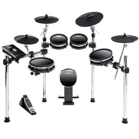 alesis dm10 mkii studio kit nine piece electronic drum kit with mesh heads alesis. Black Bedroom Furniture Sets. Home Design Ideas
