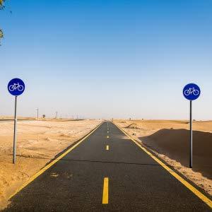 Desert cycle track