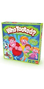 tooted, fart
