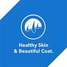 Omega 3 & 6 fatty acid keep the coat beautiful and lustrous.