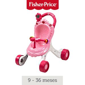 Fisher-Price Andador Cochecito de Muñecas, correpasillos ...