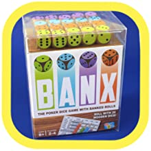 Up to 4 Players for Game Night and Parties Getta1Games BANX A Classic Dice Game with a Twist! Poker Dice Game for Ages 8+