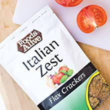 Organic Flax & Power Crackers