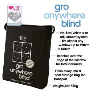 Amazon Com The Gro Company Gro Anywhere Blind Baby