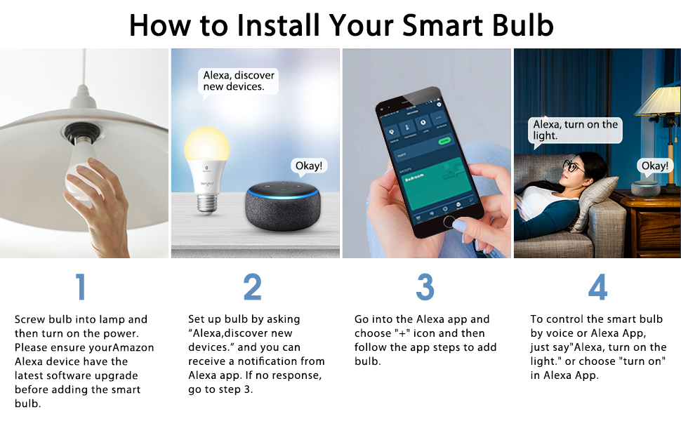 how to install your smart bulb