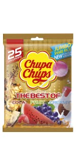 Chupa Chups Best of Lollipops, 25 Lollipop Bag