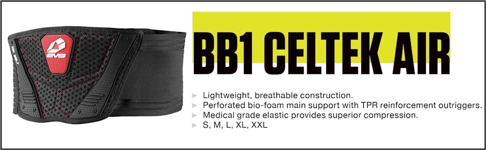 Kidney Belt Air EVS M BlackKBA19-BK-M