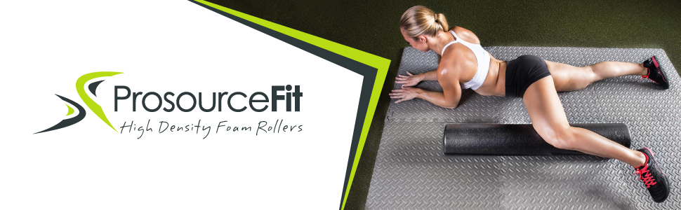 Prosource Fit High Density Foam Rollers