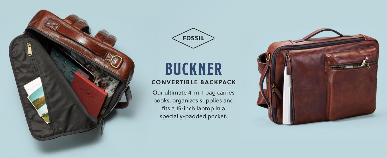 Fossil Men's Buckner bag
