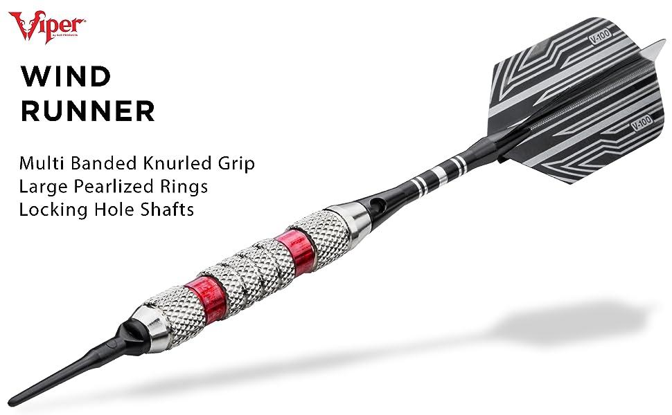 18 Grams Viper Wind Runner Soft Tip Darts