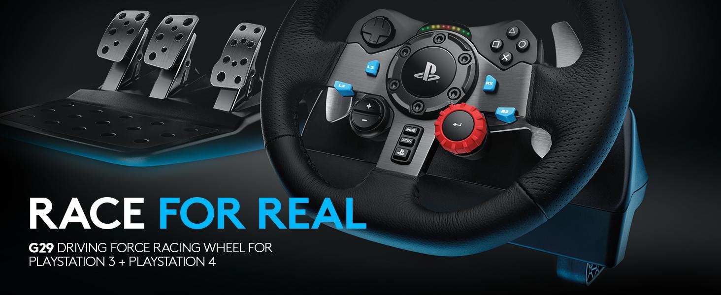 d61cab5a3de Amazon.com: Logitech Dual-motor Feedback Driving Force G29 Gaming ...