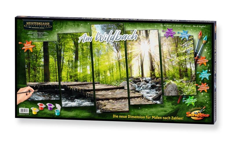 Schipper 609260688 609260688 Malen Nach Zahlen Herbstwald Triptychon 50 X 80cm