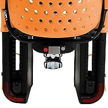 Child bike seat rear mount