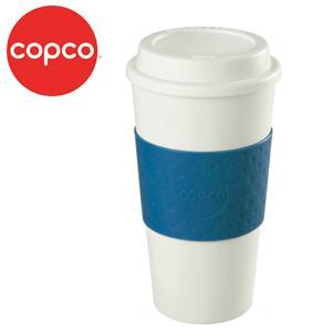 Multi Purpose Drinking Travel Mug Blue Screw on Lid Plastic Great Value!