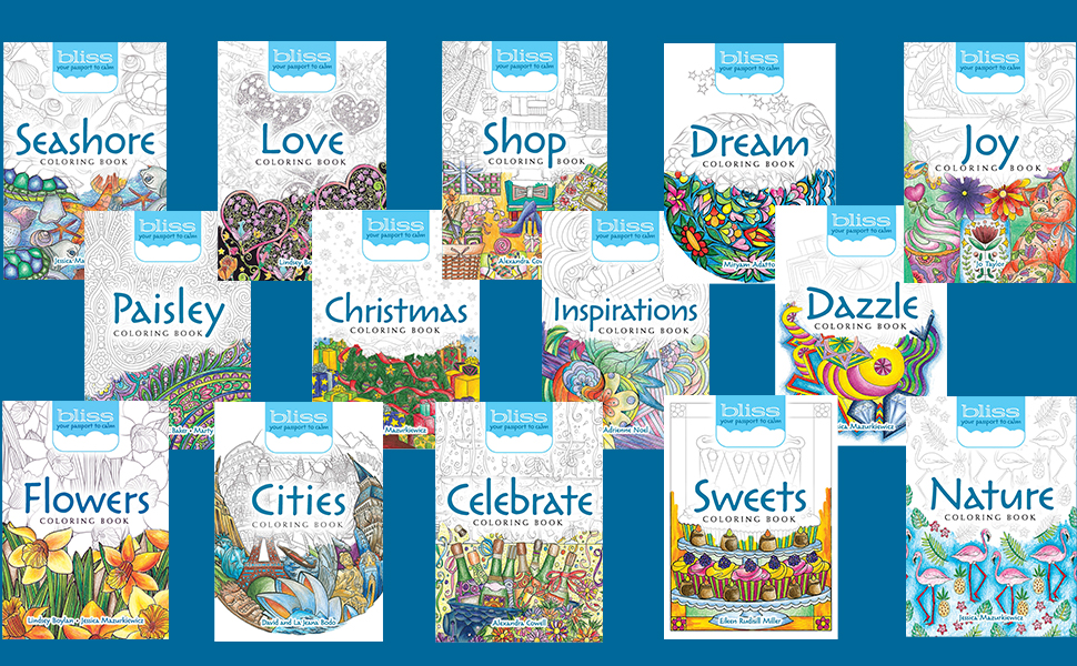 BLISS Coloring Books