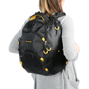 b21520af4efaea Amazon.com : Columbia Pine Oaks Backpack Diaper Bag, Black : Baby