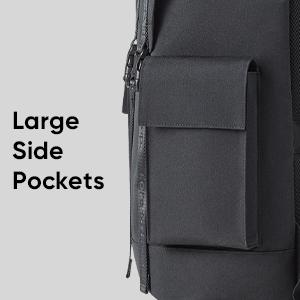 Large Side Pockets
