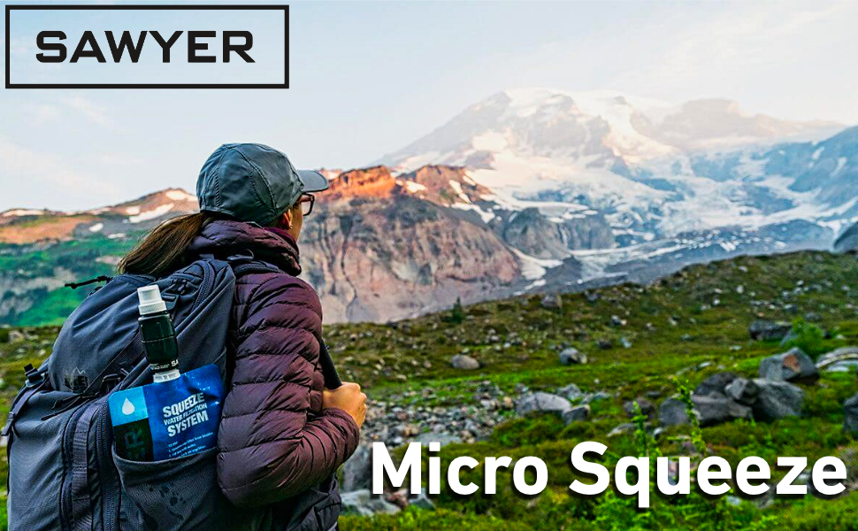 Sawyer Micro Squeeze 0.1 Micron Water Filter