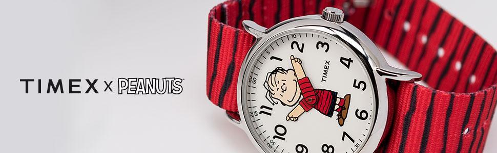 Timex x Peanuts - Linus Watch