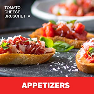 Entertain with appetizers using pre-diced tomatoes from Hunt's, made with non-GMO tomatoes.