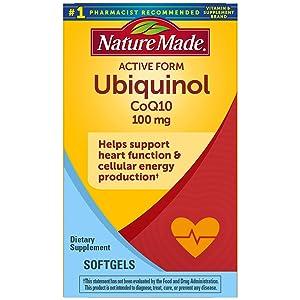 Nature Made Ubiquinol CoQ10 100 mg Softgels