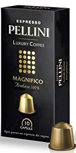 caffè pellini capsule compatibili nespresso luxury magnifico
