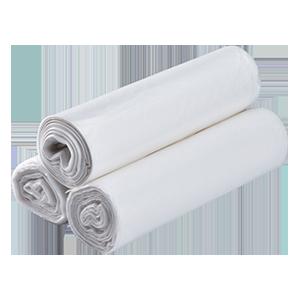 "Karat High Density 40-45 Gallon Trash Can Liner, 40"" x 48"", 16 Micron"