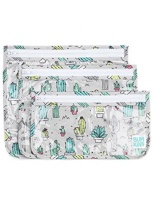 cactus design tsa toiletry bag